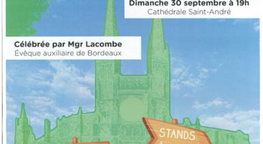 Dernier rappel… messe d'étudiants ce dimanche avec Monseig…