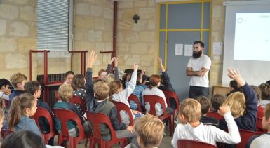 Collège Saint Seurin : PARCOURS NUMÉRIQUEUn intervenant de l…
