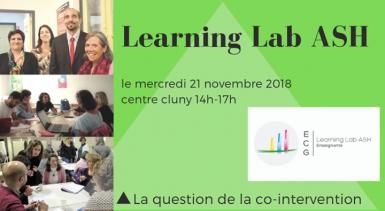 Learning Lab ASH se retrouve ce mercredi 21 novembre : «la q…