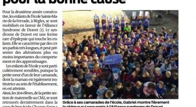 A l'école Sainte-Marie-de-la-Ferrade  #ecg33, les 204 enfant…