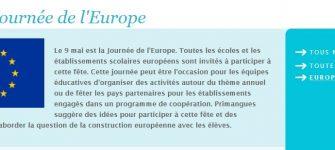 JOURNÉE DE L'EUROPE DU 9 MAI