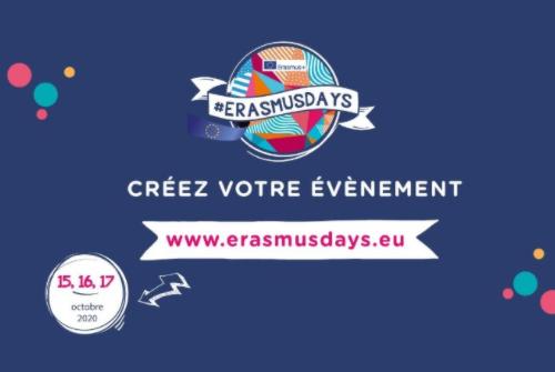Encore quelques jours pour organiser votre #ErasmusDays