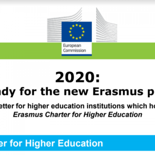 Erasmus+ 2021 – Newsletter to ECHE holders