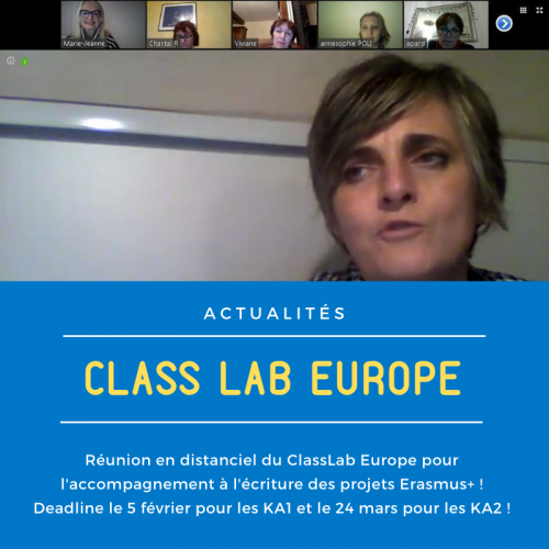 Réunion en distanciel du ClassLab Europe