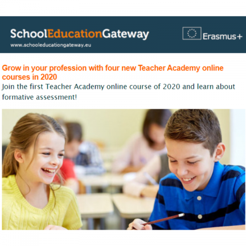 Grow in your profession with Teacher Academy online courses in 2020