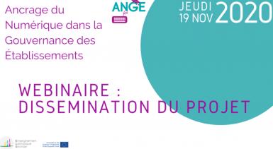 Événement de dissémination du projet de partenariat stratégique ANGE