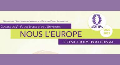 L'AMOPA, concours nationaux : dépôt des candidatures le 8 février 2021