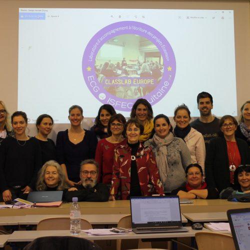 Accompagnement au montage des projets européens ERASMUS+ à Ste Anne Le Bouscat