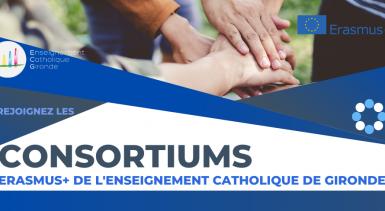 Consortiums Erasmus+ de l'Enseignement Catholique de Gironde
